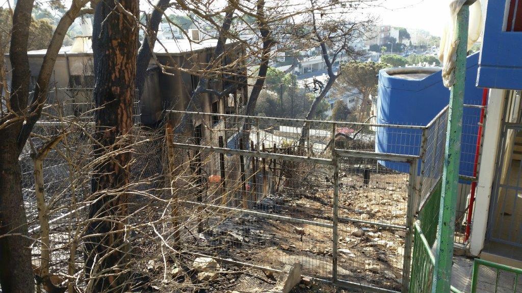 Kostskolen efter branden